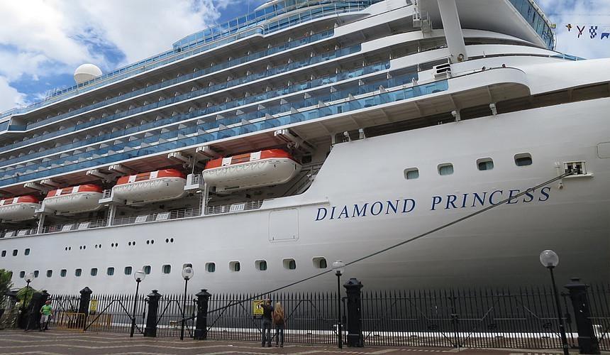 На круизном лайнере Diamond Princess выявлены новые зараженные коронавирусом-Новости туризма в России и мире