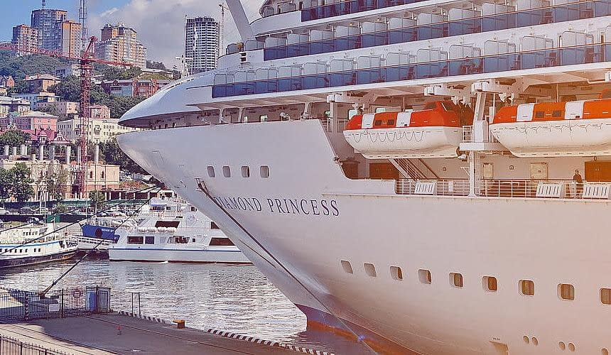 Россиян с лайнера Princess Diamond поместили на второй карантин-Новости туризма в России и мире