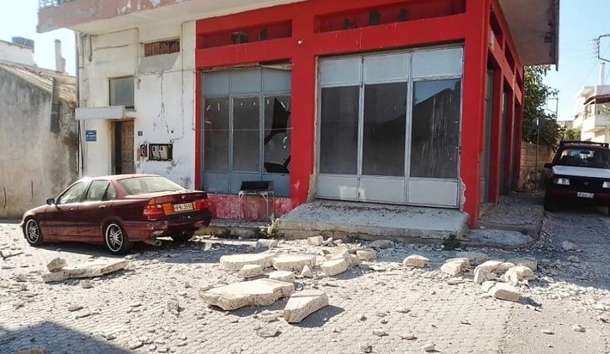 На острове Крит произошло землетрясение-Новости туризма в России и мире