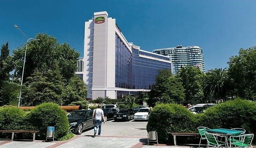Легендарный отель Гостиница «Сочи-Плаза» пойдет с молотка-Новости туризма в России и мире